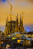 Sagrada Família - IV (thefeverhead) Tags: bcn barcelona spain building buildings architecture sagradafamilia sky city gaudi sunset tower nightphotography longexposure