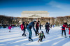 Skating Lesson. Washington, D.C. (Jan. 14, 2018) (Thomas Cluderay) Tags: canon canon6d photography washington washingtondc washingtonian dc district city winter skating iceskating skates sculpturegarden themall archives streetphotography
