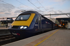 Great Western Railway HST 43079 (Will Swain) Tags: reading station 12th october 2017 berkshire great western railway hst high speed gwr first group class 43 greater london capital city south east train trains rail railways transport travel uk britain vehicle vehicles country england english 43079 079 79