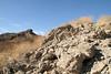 2006_11_04_francisdam_37 (Nfrastructure) Tags: 20061104 stfrancisdam stfrancisreservoir water flood catastrophe concrete valley arid geology sanfrisquitofault sandstone conglomerate schist mica losangelesbureauofwaterworksandsupply
