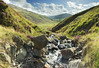View of Wrynose (Benjamin Driver) Tags: wrynose wrynosebottom bottom lakedistrict lake district valley hill hills grass water river stream blue sky clouds cloud sun cumbria landscape panorama stitched stitch land scape walking summer 2017