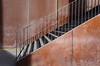 steps and lines (Rosmarie Voegtli) Tags: steps lines stairs shadows repetition geländer sun sonne schatten licht light industrial olmamessen stgallen diagonal vertical handrail saturdayforstairs hsfs