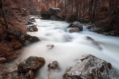 Into the woods (Mika Laitinen) Tags: canon5dmarkiv europe germany hintersee leefilters color landscape longexposure nature outdoors river rock tree water waterfall ramsaubeiberchtesgaden bayern de