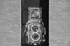 """Rolleiflex Twin Lens Mural"" (Photography by Sharon Farrell) Tags: muralarts murals streetart asburypark asburyparknj asburyparknewjersey newjersey jerseyshore blackandwhite noiretblanc"