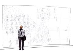 Museum Boymans van Beuningen (h e r m a n) Tags: herman illustratie tekening drawing illustration dagboek diary journal mijnleven mylife vrouw woman back rug rucke ruggenfiguur ruckenfigur museumvisitor museumbezoeker museum rotterdam boymansvanbeuningen xl collectie collection formaat groot big large richardlong anselmkiefer jimshaw jeanmichelbasquiat basquiat