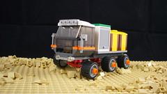 Cargo Rover 6x6 (FebRovery 2018) 01 (-Nightfall-) Tags: lego moc 6x6 car rover febrovery space truck cargo