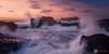 Godrevy (Chris Davis Photography) Tags: cornwall sunset godrevy waves water ocean light rocks sky dramatic ngc