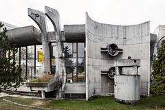Post Office. (Stefano Perego Photography) Tags: stepegphotography stefano perego building concrete modernism modernist brutalism brutalist modern architecture design balkans fyrom