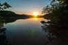 Mirror Lake sunrise (dcclark) Tags: porkies porcupinemountains michigan upperpeninsula camping backpacking outdoor sunrise reflection mirrorlake nature landscape