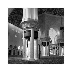 Sheihk Zayed Mosque (posterboy2007) Tags: uae abudhabi sheihkzayedmosque interior columns