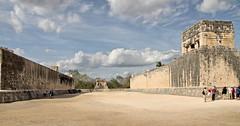 Chichen Itza - the Grand Ball Court (Chemose) Tags: mexico mexique yucatán yucatan chichenitza court terrain ball balle game jeu maya hdr canon eos 7d mars march