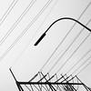 Der Strom kommt vom Umspannwerk (zeh.hah.es.) Tags: witten stromleitung powerline strassenlaterne streetlamp kandelaber grau gray grey schwarz black silhouette nrw nordrheinwestfalen deutschland germany himmel sky