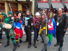 Young Justice (Sconderson Cosplay) Tags: comic con san diego sdcc 2016 flash jay garrick hunter zolomon earth2 cosplay young justice deathstroke artemis miss martian batgirl nightwing superboy