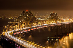 Time (Thomas Hawk) Tags: baybridge california sanfrancisco treasureisland usa unitedstates unitedstatesofamerica yerbabuenaisland bridge fav10 fav25 fav50 fav100