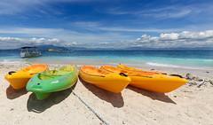 Kayaks || South Sea Island (David Marriott - Sydney) Tags: denarauisland westerndivision fiji fj south sea island kayak coral paradise sky sand