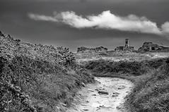 Cloudy (Toucaly) Tags: france spring côtesdarmor blackwhite overcast bretagne noirblanc couvert paysagemarin îledebréhat mer phare sea island lighthouse seascape île europe printemps pharedupaon