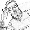"""Pencil"" (giannipaoloziliani) Tags: giannipaoloziliani face blackandwhite biancoenero freetime io me justme myself disegno design blackartist men beardedman beard man selfie matita pencil autoritratto ritrattoamatita ritratto autoretrato retrato"