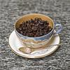 Enjoy a Cup of Coffee (vtom61) Tags: coffee cup beans sonya7r supertakumar50mm14