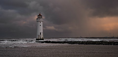 Perch Rock lighthouse (PentlandPirate of the North) Tags: perchrocklighthouse newbrighton dawn wirral merseyside