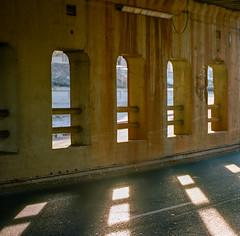 San Jose (bior) Tags: portra160 portra kodakportra160 120 mediumformat hasselblad500cm 6x6cm underpass sanjose santaclarastreet shadow