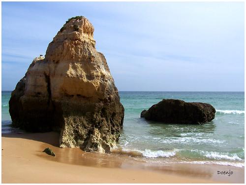 Playa del Algarve. Portimao