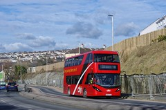 City in the Suburbs (Better Living Through Chemistry37) Tags: route51 51 wa17ftz alexanderdennis adl e40d enviro400city pcb plymouthcitybus wolseleyroad plymouth keyham buses busessouthwest transport transportation vehicles vehicle psv publictransport