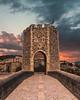 Summer-Belure (Jorge HI) Tags: belure cataluña catalunya españa spain summer verano puente puesta de sol sky
