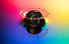 A splash of colour (susie2778) Tags: olympus omdem1mkii 60mmmacrof28 splashartkit2 water splash studio flash marble reflection colourful waterdrop olympusm60mmf28macro