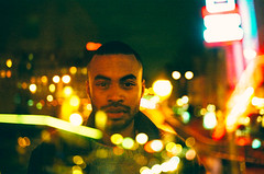 Untitled (Louis Dazy) Tags: 35mm analog film double exposure city paris skyline niht dakr night