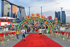 River Hongboa (chooyutshing) Tags: entrance lanternthemeset display riverhongbao2018 thefloatmarinabay chinesenewyear lunarnewyear yearofthedog festival attractions marinabay singapore