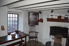 No. 1 Rhyd-y-Car Cottages (cmw_1965) Tags: rhydycar terrace terraced houses merthyr tydfil st fagans museum wales welsh miners cottages 18th century 19th georgian victorian hanoverian richard crawshay furniture 1805 stick chair comb back cupboard cabinet fireplace oak plank table bowls trestle bench bakestone flagstone floor beams joists ceiling exposed tankards