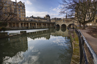 The classic view of Bath