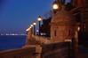 Invierno de Cádiz (Raquel Borrrero) Tags: alameda cádiz horaazul farolas lights españa nikon bluehour d3200 anochecer streetlight