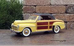 1948 Ford Sportsman Convertible (JCarnutz) Tags: 124scale diecast danburymint 1948 ford sportsman