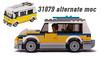 31079 alternate MOC (KEEP_ON_BRICKING) Tags: lego creator set 2018 31079 alternate model moc mod legomoc car vehicle wagon sunshine family keeponbricking