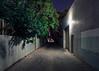 Docker Ln (Andrew_Dempster) Tags: sa laneway urban nightshot tree norwood dockerlane australia corrugatedfence nightphotography night nightscape longexposure southaustralia lane au