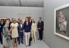 Lalla Salma et Brigitte Macron visitent l'exposition Face à  Picasso (alkhaleej-online) Tags: lallaoumkaltoumlallasalmabrigittemacronfaceãpicasso rabat morocco