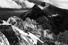 alpine symphony... (ibo.h) Tags: snow ice winter cold rocks clouds bw stormy alpes alpen switzerland
