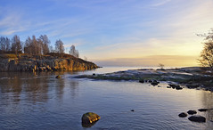 Our winter.  January 2018. Helsinki, Finland. (L.Lahtinen (nature photography)) Tags: finland winter sea uunisaari helsinki balticsea nature light january 2018 islands windturbine tuuliturbiini suomi seascape rocks maisema meri merimaisema europe