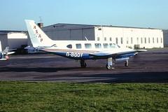 G-BGOY Piper Navajo Anglo Scottish Air Parcels CVT 13-10-81 (cvtperson) Tags: gbgoy piper navajo anglo scottish air parcels coventry cvt egbe