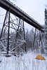 Firesteel Trestle Camping Trip, December 2017-19 (Invinci_bull) Tags: winter wintercamping snow snowshoes camping upperpeninsula up michigan michigansupperpeninsula mi forest stateforest firesteel firesteelriver tent