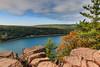 Devils Lake State Park (Chris Mahoney - AACStudio) Tags: devils nature state wisconsin lake park granite rocks landscape sunset trees baraboo 1018mm canon wide angle