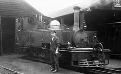 devon - southern rly-l&b 199 lew on shed pilton (johnmightycat1) Tags: railway narrowgauge southern devon steam