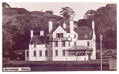 Arrochar Hotel Argyll and Bute. (Paris-Roubaix) Tags: arrochar hotel loch long scotland antique postcards vintage scottish argyll bute cowal peninsula