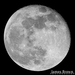 Waning Gibbous Moon (97.2% Illuminated) (J. Brown Photography) Tags: james brown photography sony alpha sigma 14x 2x 150500mm teleconverter moon lunar astonomy astro astrophotography space