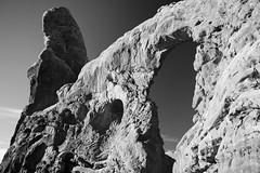 Turret Arch, Utah (thedot_ru) Tags: turret arch utah blackandwhite bw travel adventure usa canon5d 2015