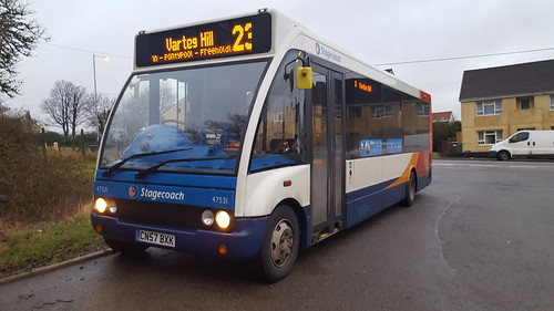 Stagecoach In South Wales | Optare Solo | CN57 BXK | 47531