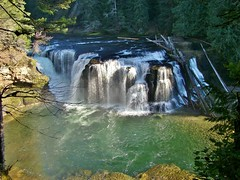 Lower Lewis River Falls (dinannee) Tags:
