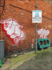 Teach / Zonk (Alex Ellison) Tags: zonk dds ac teach throwup throwie northwestlondon urban graffiti graff boobs