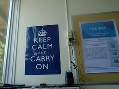 DSC00604 (classroomcamera) Tags: school poster posters blue message sign signage signs keep calm carry inspiration window light pencil sharpener plug wire wires plugs bulletin board information mantra saying quote classroom